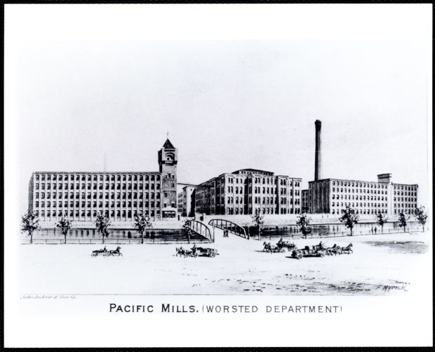 Pacific Mills. (Worsted department)