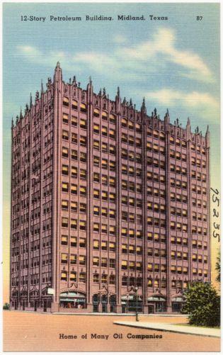 12 - story petroleum building, Midland, Texas