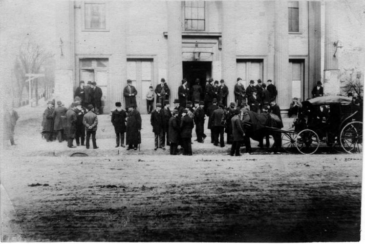 Town Meeting Day in 1894.