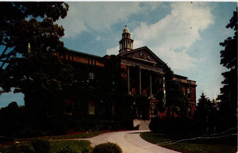 Administration Building, circa 1964.