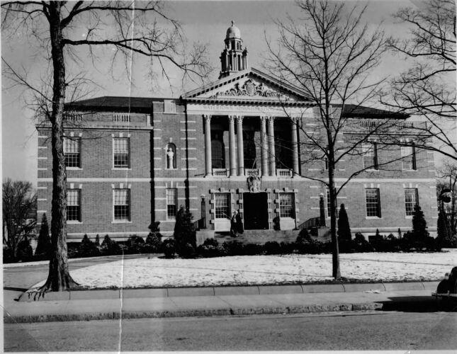 Town Hall, built 1932.
