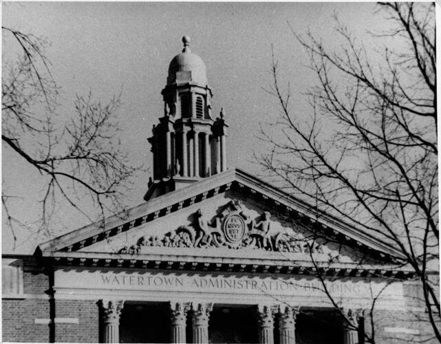 """Town Hall (""""Furber's Folly"""")."""